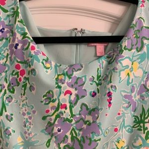 Lilly Pulitzer Dresses - Blue Southern Charm Lilly Pulitzer Brielle Large